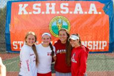 WHS GIRLS TENNIS @ STATE 4A TOURNEY