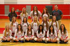 Lady Crusader Volleyball